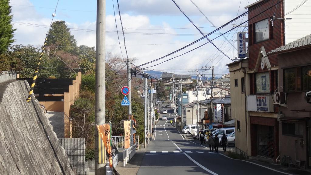 京都マラソン 坂道