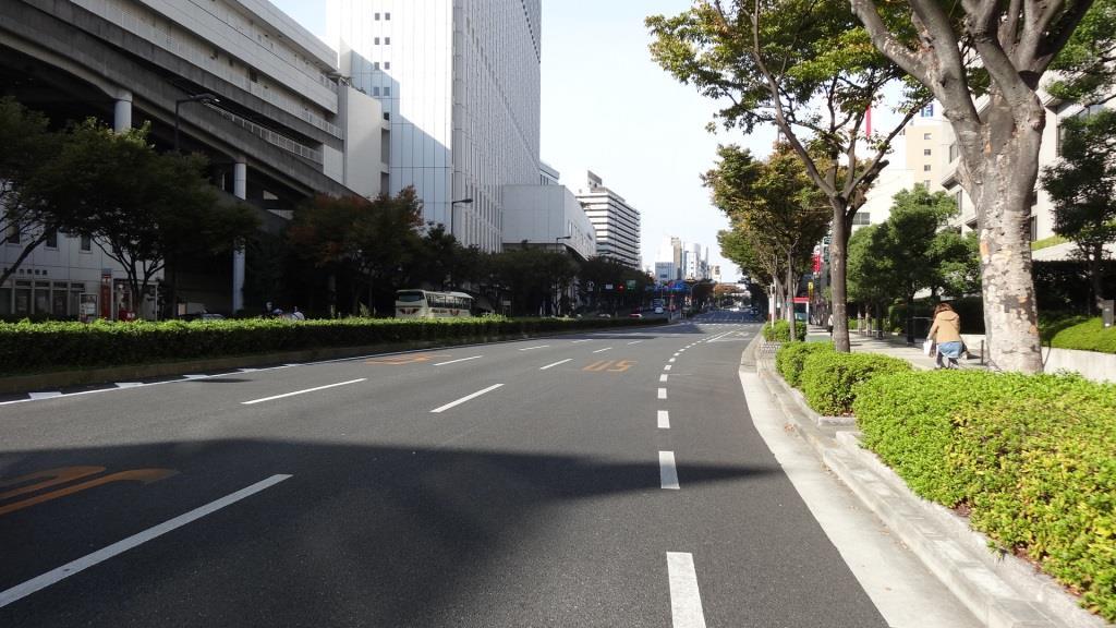 大阪マラソン 最難関区間1
