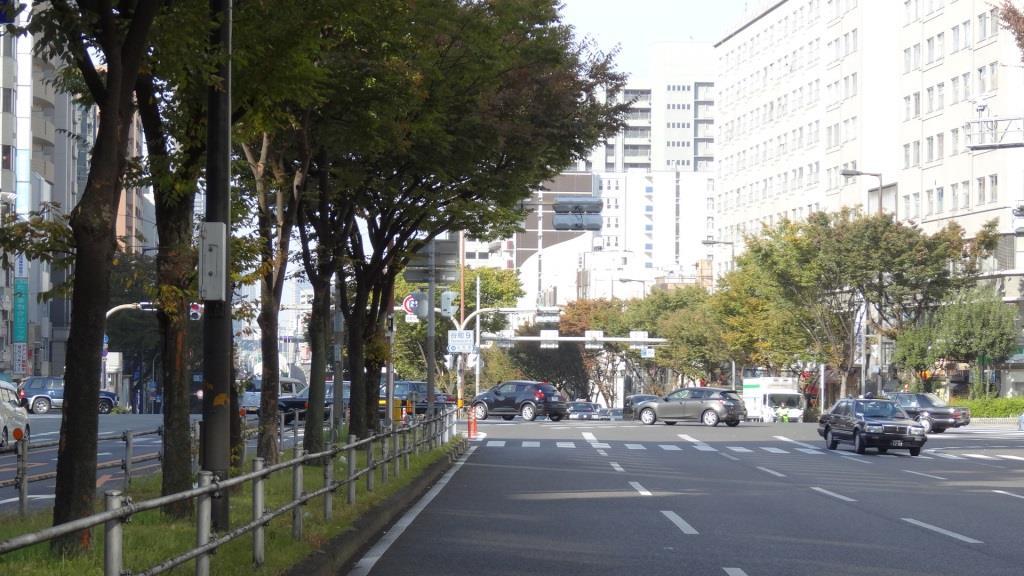 大阪マラソン 谷町9交差点