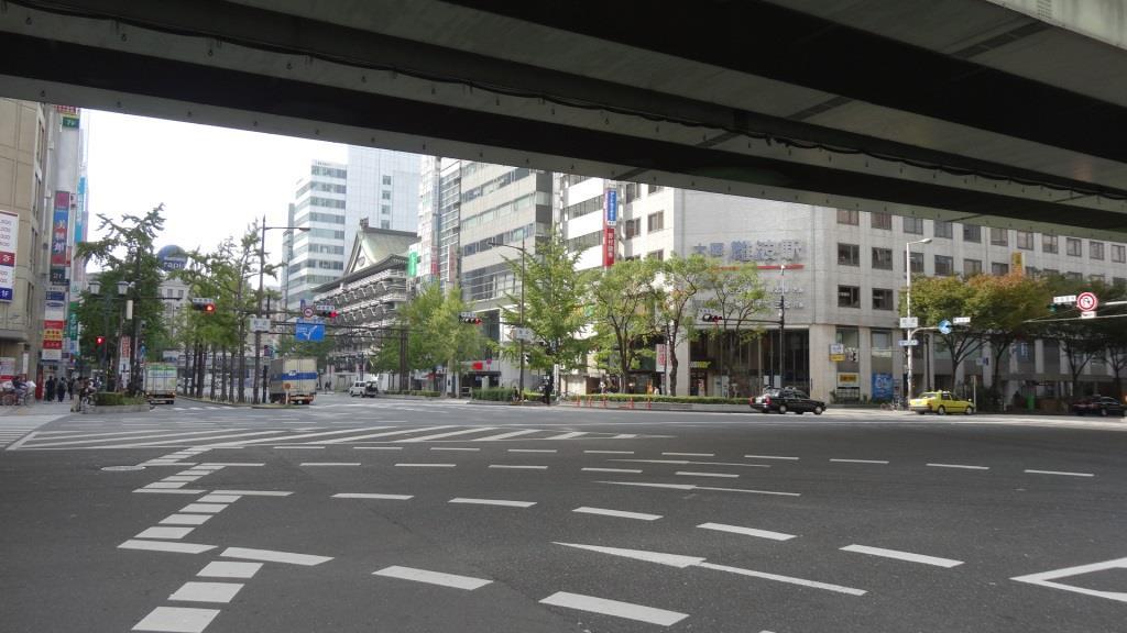 大阪マラソン 難波
