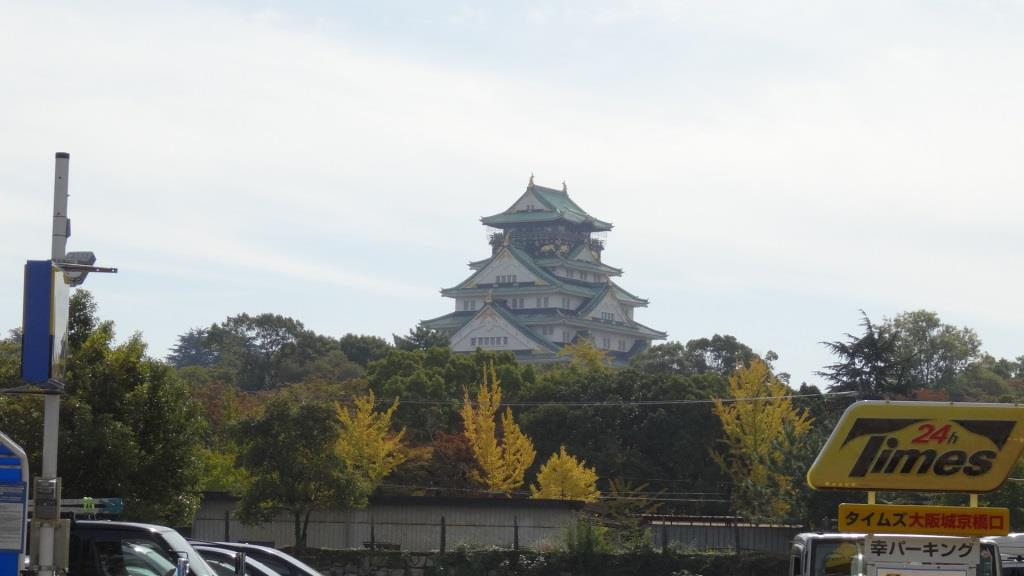 大阪マラソン 大阪城