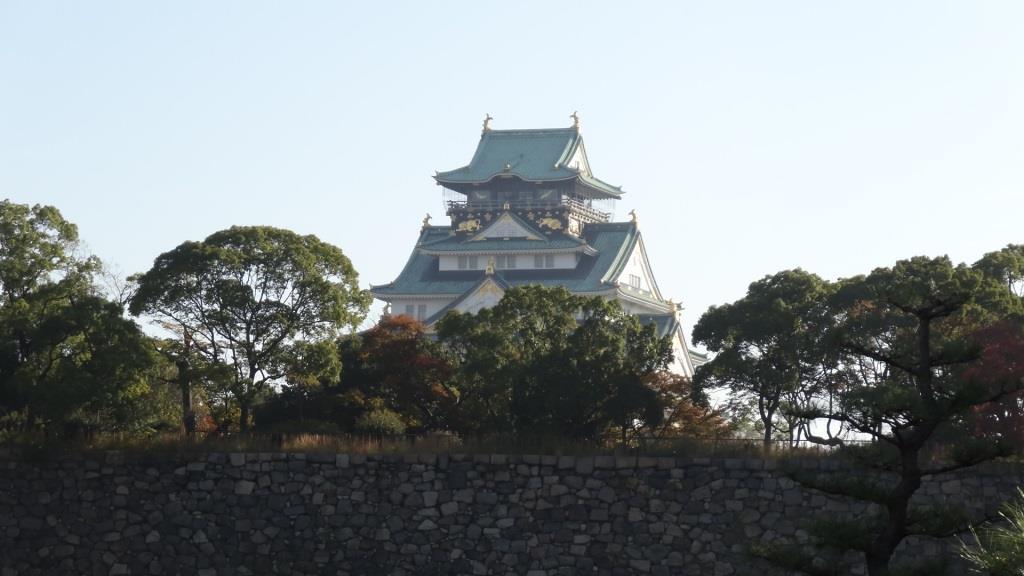 大阪マラソン スタート地点 大阪城の羨望