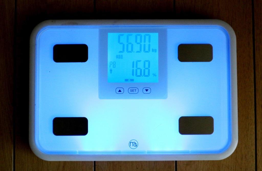 2017年2月12日付け体重
