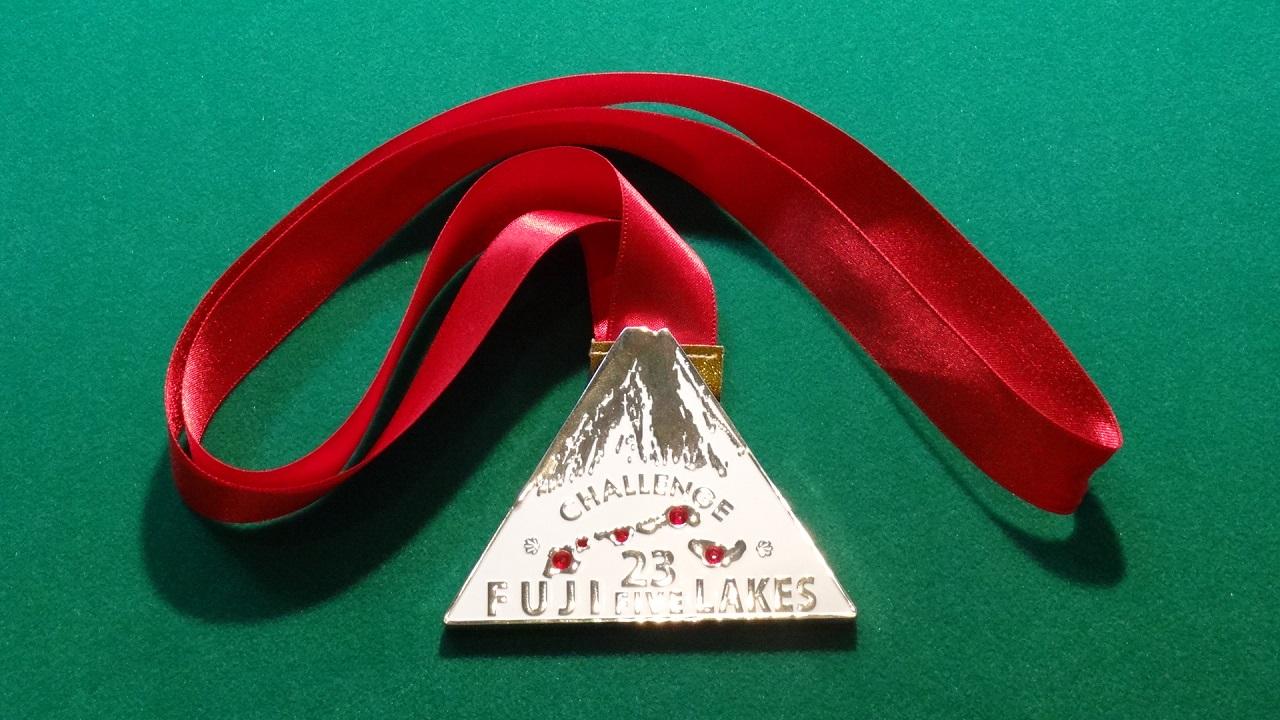2013チャレンジ富士五湖112km 完走メダル