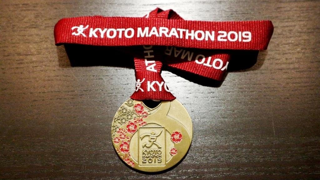 京都マラソン2019 完走メダル
